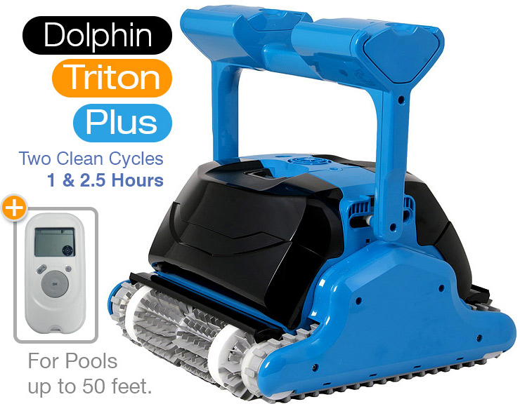 Maytronics Dolphin Triton Plus Robotic Pool Cleaner