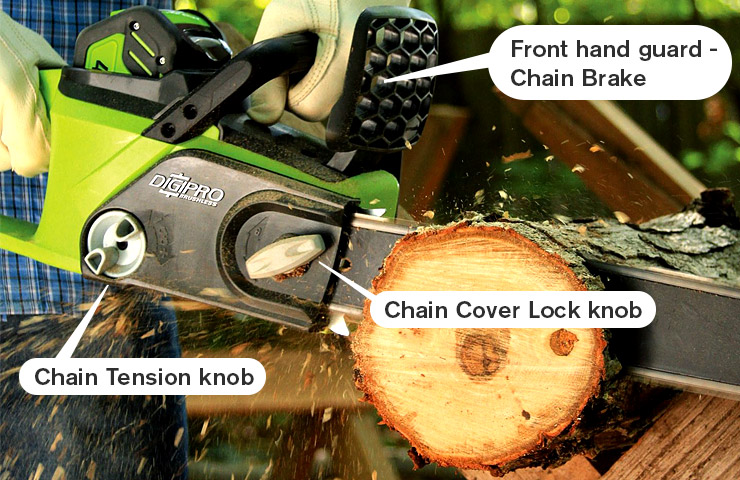 Best battery powered chainsaw chainsaw journal greenworks 20312 digipro g max 40v battery powered chainsaw greentooth Images
