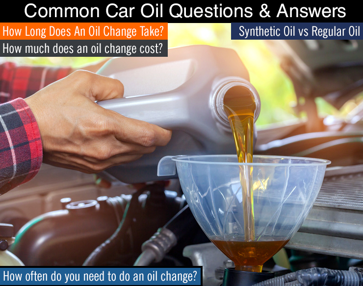 Q&A : How Long Does An Oil Change Take? & More Common Oil Questions